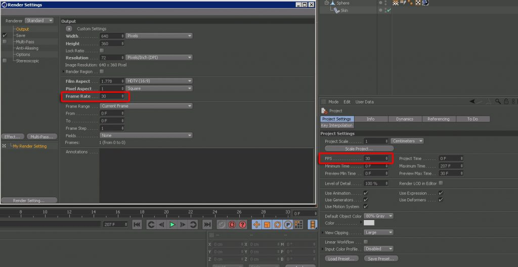 Render Setting - Consistent